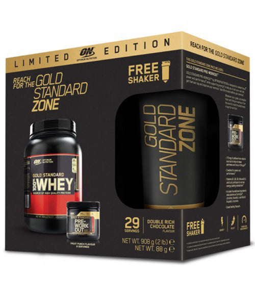Optimum Nutrition Gold Standard Zone, Limited Edition Box - Muscle Freak