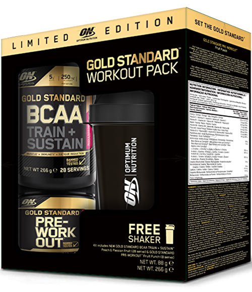 Optimum Nutrition Gold Standard Workout Pack - Muscle Freak
