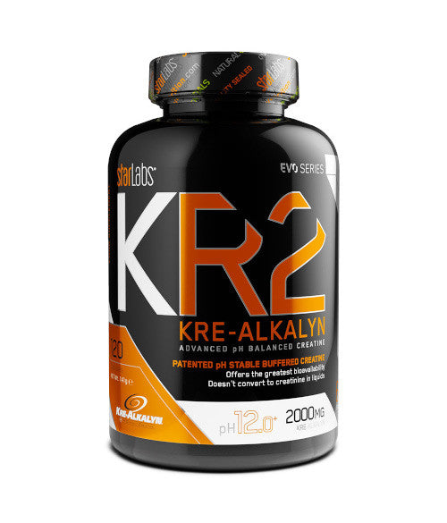 StarLabs Nutrition KR2 KRE-ALKALYN 120 tabs - Muscle Freak