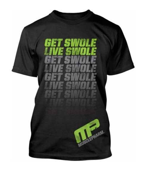 MusclePharm Get Swole Flagship T-shirt - Muscle Freak