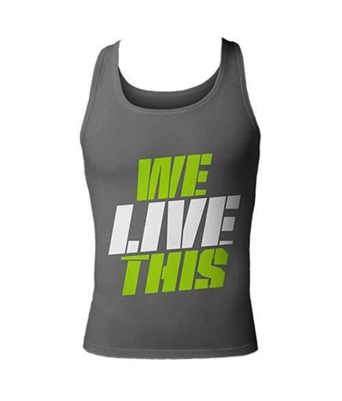 MusclePharm Tank-Top We Live This - Muscle Freak