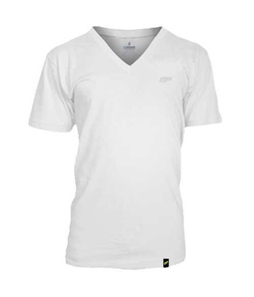 MusclePharm V-neck T-shirt Embroidered - Muscle Freak