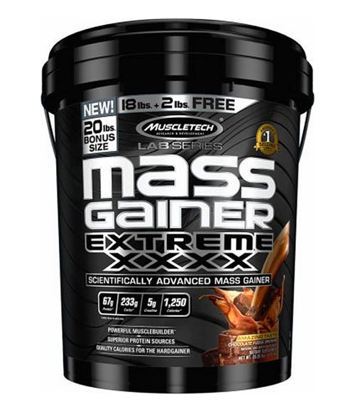 MuscleTech Mass Gainer Extreme XXXX - Muscle Freak