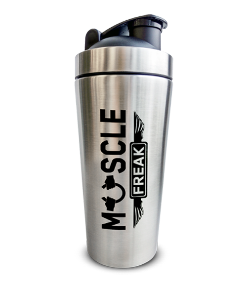 Muscle Freak Metalni Shaker 700ml - Muscle Freak