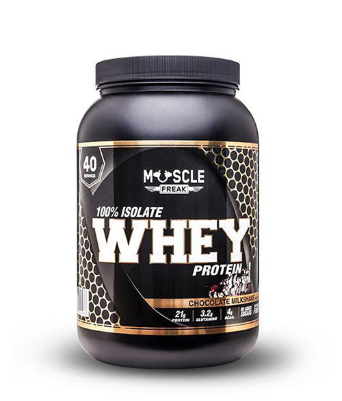 Muscle Freak 100% Isolate Whey Protein - Muscle Freak