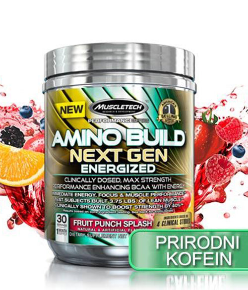 MuscleTech Aminobuild Next Gen Energized - Muscle Freak