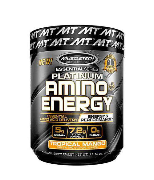 MuscleTech Platinum Amino + Energy - Muscle Freak