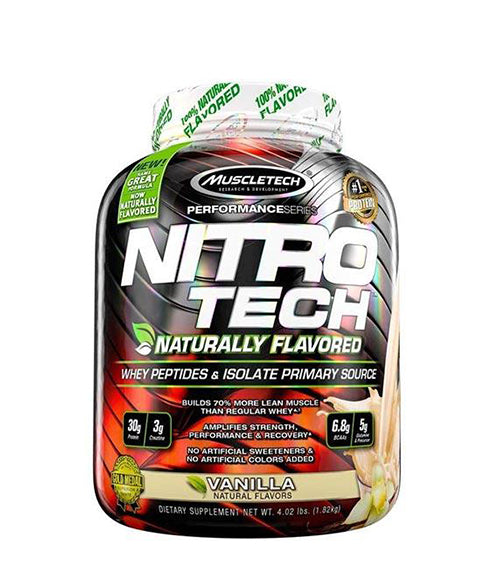 MuscleTech Nitro-Tech Naturally Flavored