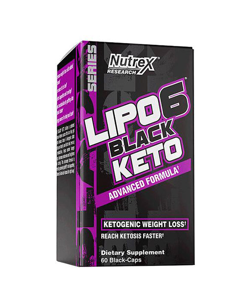 Nutrex Lipo-6 Black Keto - Muscle Freak
