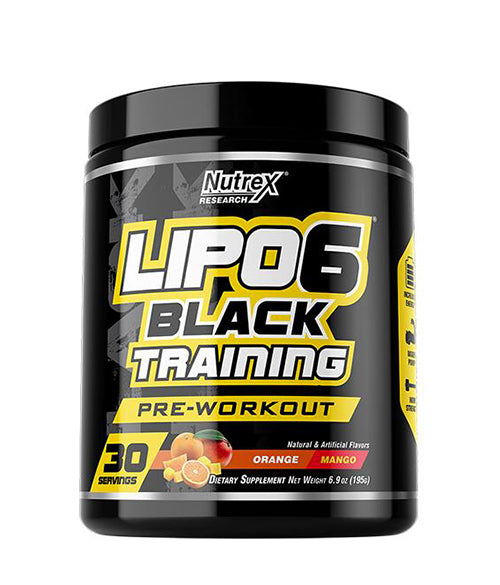 Nutrex LIPO-6 Black training - Muscle Freak