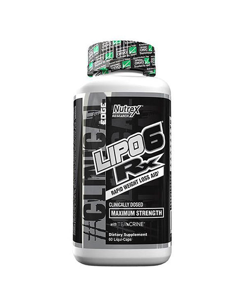 Nutrex Lipo-6 RX -35% - Muscle Freak