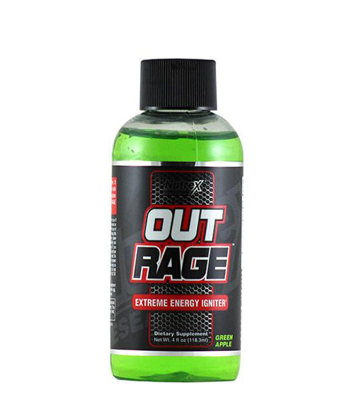 Nutrex Outrage extreme energy shot - Muscle Freak