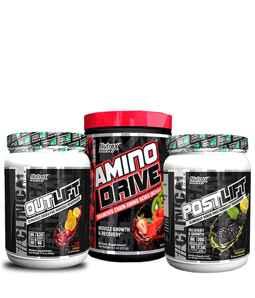 NUTREX POWER STACK - Muscle Freak