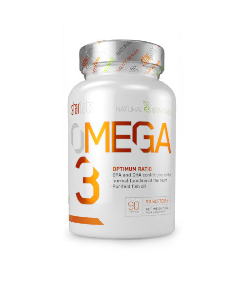 StarLabs Nutrition Omega 3 (90 softgels) - Muscle Freak
