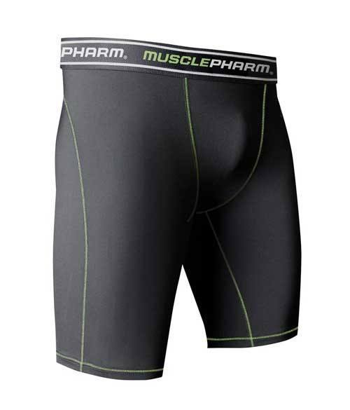 MusclePharm Men Boxer Brief Black - Muscle Freak