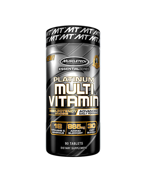 Muscletech Platinum Multivitamin - Muscle Freak