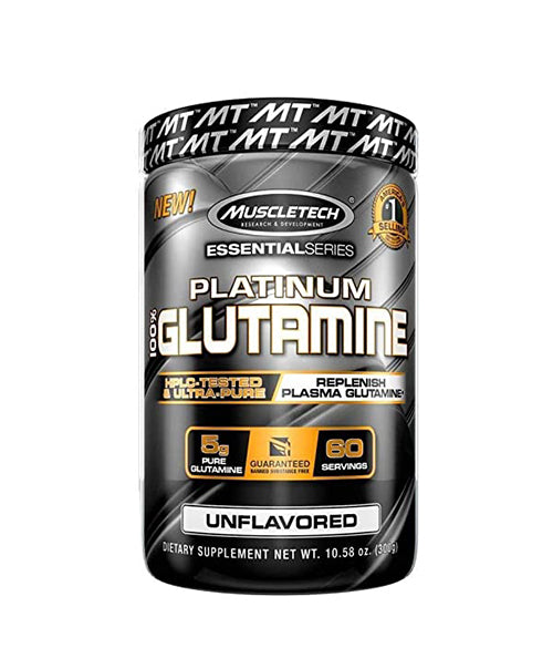 Muscletech Platinum 100% Glutamine - Muscle Freak