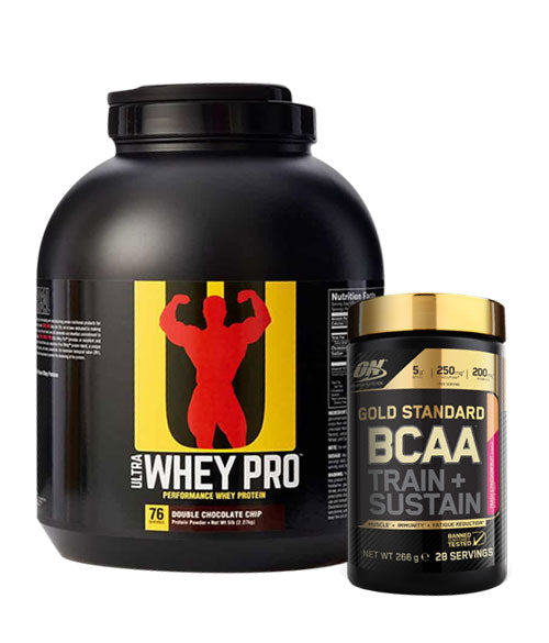 Universal Nutrition Ultra Whey Pro + GRATIS Optimum Nutrition GS BCAA