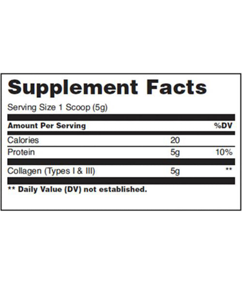 Universal Nutrition Collagen Unflavored - Muscle Freak