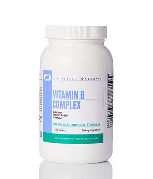 Universal Nutrition Vitamin B Complex - Muscle Freak
