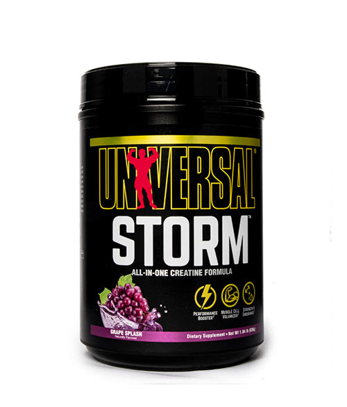 Universal Nutrition Storm + GRATIS Ultra Whey Pro (trial) - Muscle Freak
