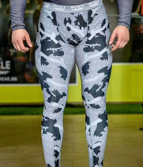 "Muscle Freak Man Leggings ""MILITARY"" - Muscle Freak"