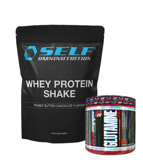 Self Omninutrition Whey Protein Shake + PS Glutamine 300 -20%
