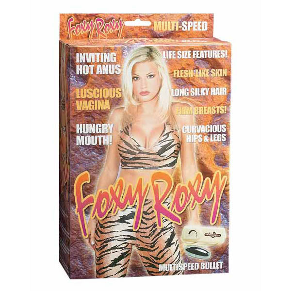 Foxy Roxy - Vibrating Inflatable Love Doll
