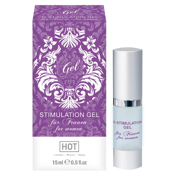 O-stimulation Gel - Female Enhancer Gel - 15 ml Bottle