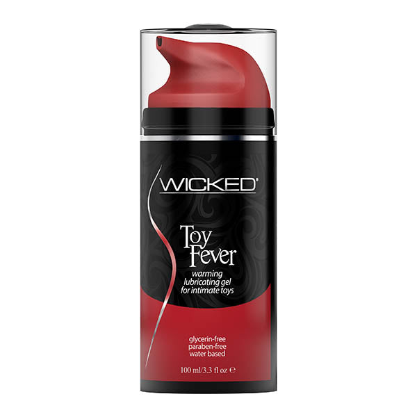 Wicked Toy Fever - Warming Glycerin Free Water Based Lubricant - 100 ml (3.3 oz) Bottle