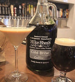 DARK AND MEDIUM COLD BREW GROWLER- 64 OZ. - Mike Shea's Coffee Roasting