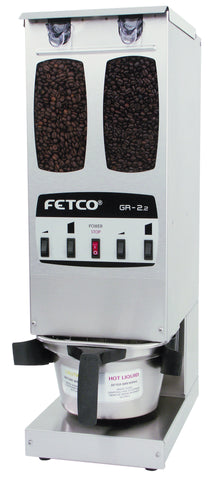 Fetco Coffee Grinders - Mike Shea's Coffee Roasting