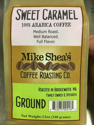 Sweet Caramel (Flavored Coffee) - Mike Shea's Coffee Roasting