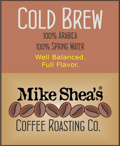 COLD BREW, DARK, COARSE GROUND- 12 OZ.