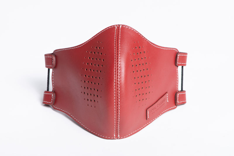 The Atlas Mask: Brick Red