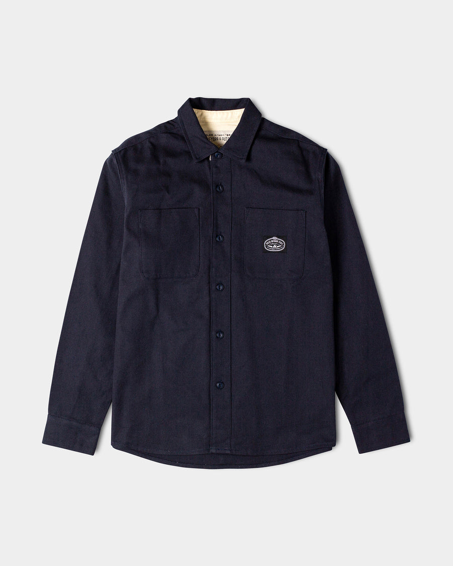 Sisal Duck Canvas Overshirt (1473992851531)