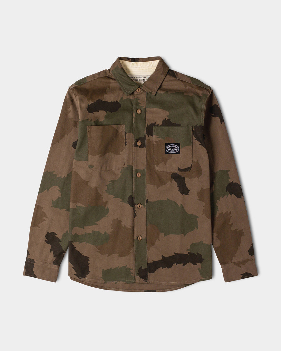 Sisal Duck Canvas Overshirt