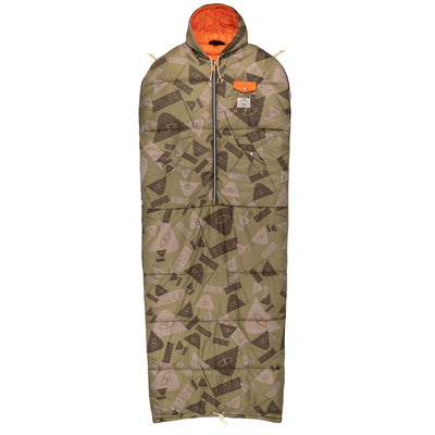 THE REVERSIBLE NAPSACK SUMMIT CAMO GREEN (6042111344826)