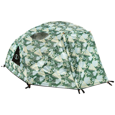 2+ Person Tent Coral Reef Green (6041364627642)
