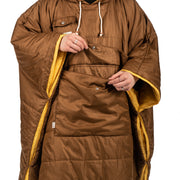 Reversible Camp Poncho - Gold (6544595943610)