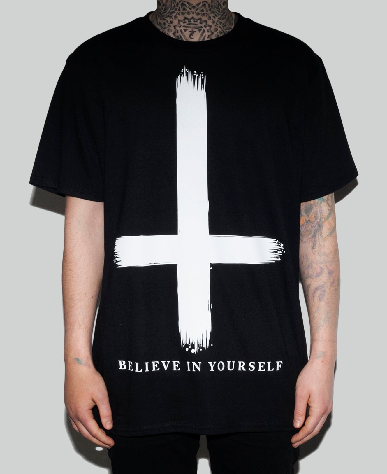 Believe In Yourself Tee The Anti Life Ltd