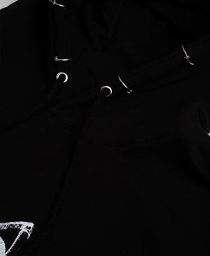 Back To Hell Hoodie - The Anti Life Ltd