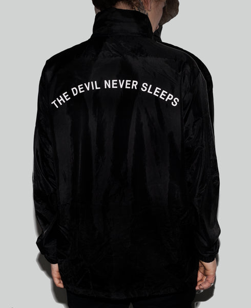 THE DEVIL NEVER SLEEPS JACKET
