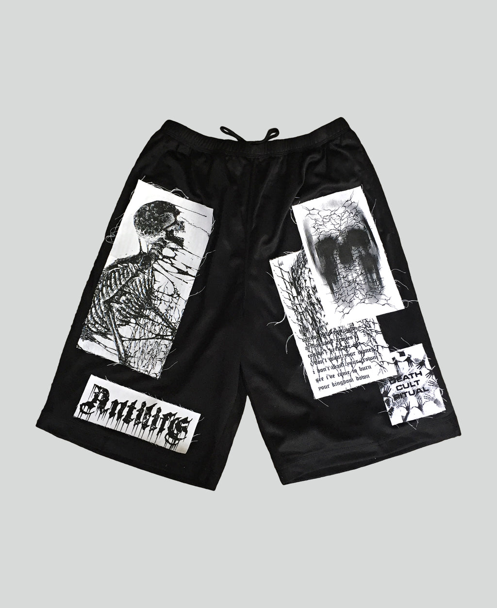 'Death Cult' Shorts - The Anti Life Ltd