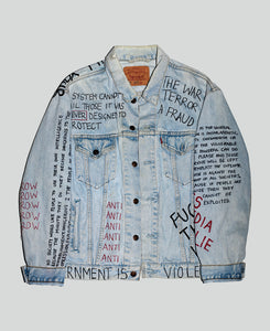 Anti-Establishment Reworked Jacket - The Anti Life