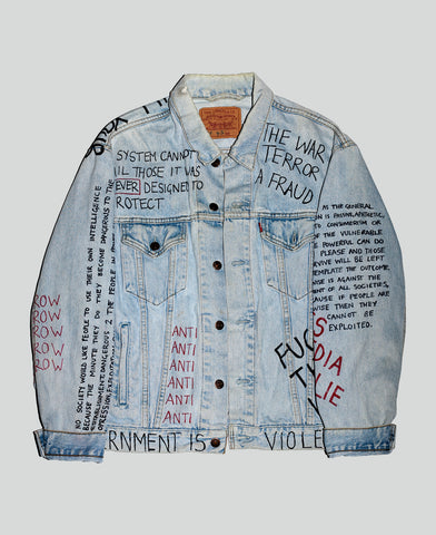 'Anti-Establishment' Reworked Jacket
