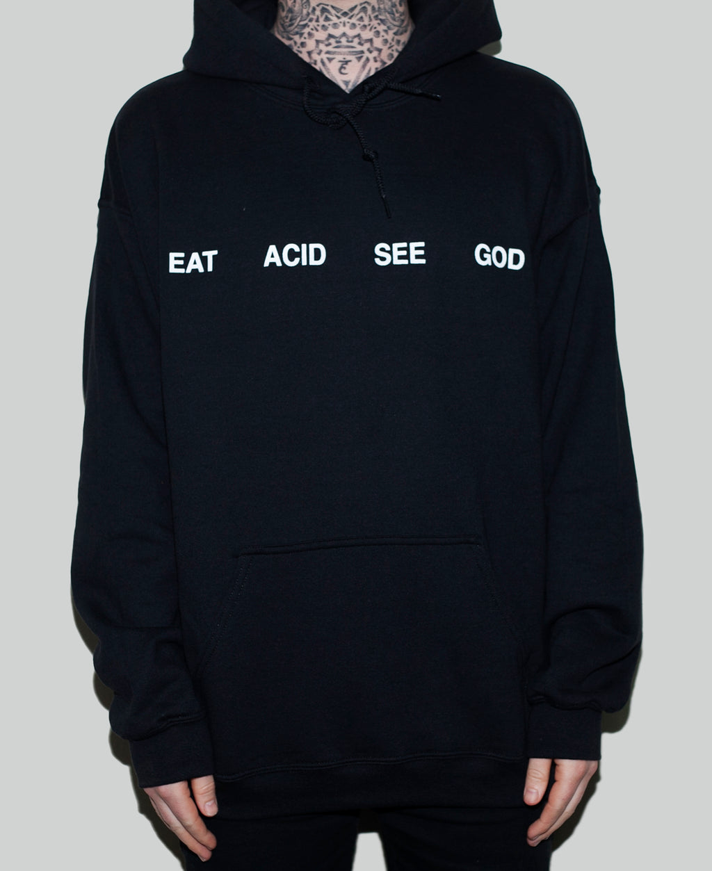 Eat Acid See God Hoodie - The Anti Life Ltd