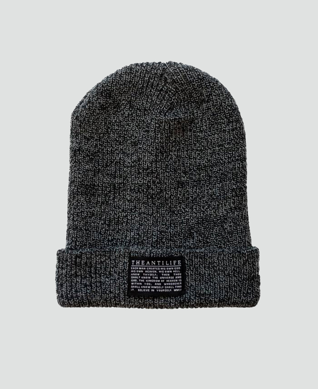 Esoteric Beanie Grey - The Anti Life Ltd
