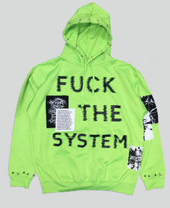 F*ck The System Hoodie - The Anti Life Ltd