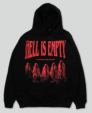 Hell Is Empty Hoodie - The Anti Life Ltd